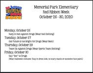 red ribbon week 1